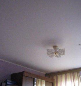 Натяжной потолок белый MSD premium