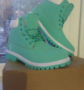 Новые ботинки зима 40рр 25-26см