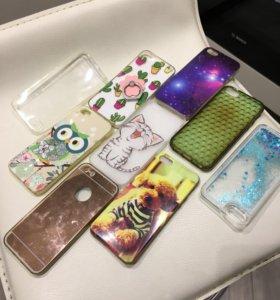 Чехлы на Apple iPhone 5 s