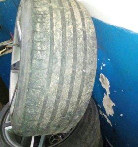 Продаю колеса взборе AMG разно широкиеR18 на мерс