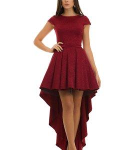 Платье вечернее с фатиновым подъюбником 10109