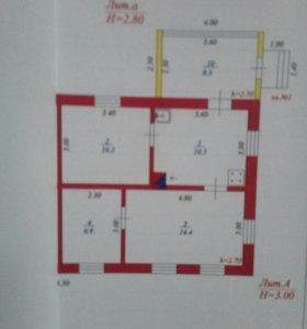 Коттедж, 50 м²