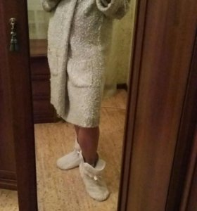 Уютный халат для зимних вечеров...