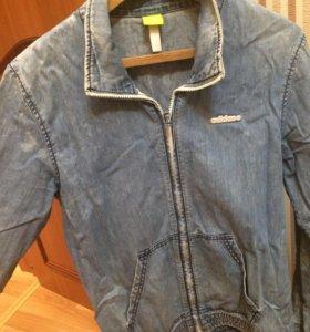 Джинсовая куртка adidas