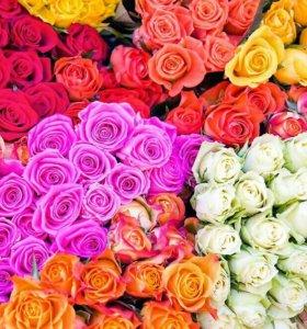 Цветы ,букет цветов,букет роз. День мамы