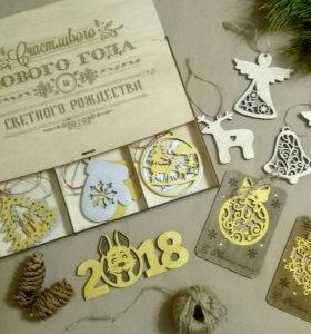 Ёлочные игрушки🎄/новогодние сувениры