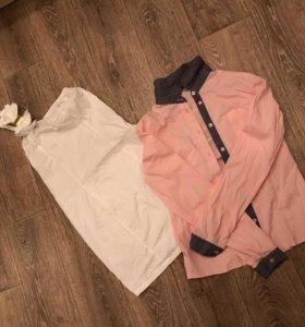 Рубашка и платье