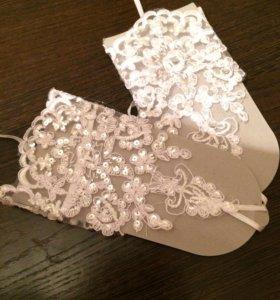 Продам модные новые свадебные перчатки