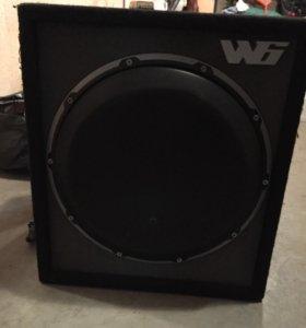 """Комплект сабвуфер 🔊 jl Audio w6-13"""" и eos 1.350"""