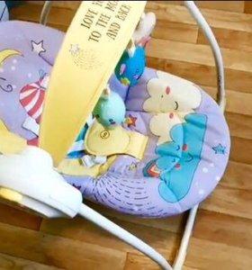 Качель электрическая happy baby jolly