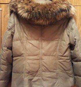 Куртка пуховичек,можно носить в мороз.