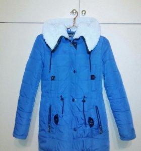 Женская зимняя куртка г.Переславль
