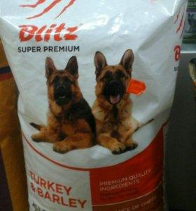 Беззерновой корм для собак BLITZ
