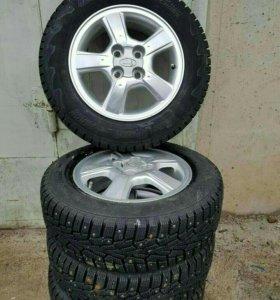 Шипованные колёса