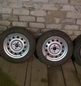 Комплект зимних колёс Кама
