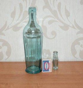 Бутылки старинные