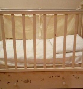 Кроватка детская бу