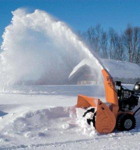 Услуги снегоуборщика