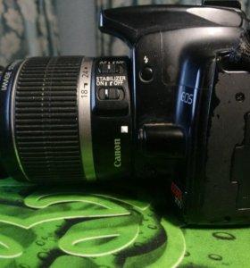 Зеркальный фотоаппарат Canon EOS 400D + 18-55 kit