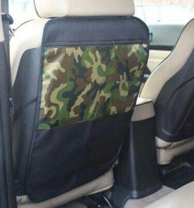 Защита для спинки сиденья + Органайзер для авто