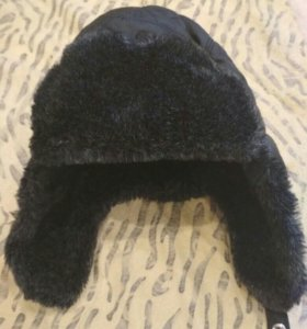 Зимняя шапка 7-8 лет