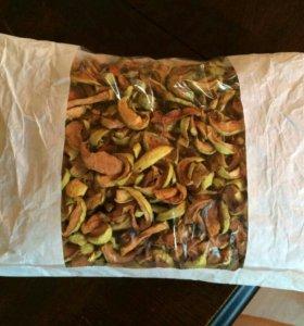 Яблочки сушеные домашние