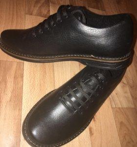 Туфли муж. из натуральной кожи