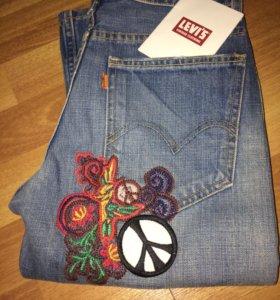 Новые джинсы Levi's made in USA