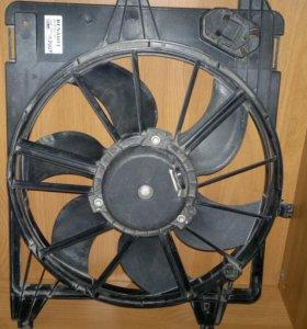 новый вентилятор renault logan рено логан