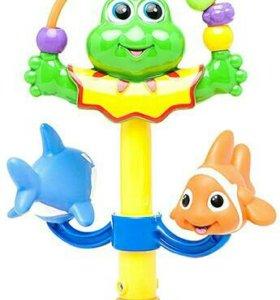 Игрушка-лягушка на присоске