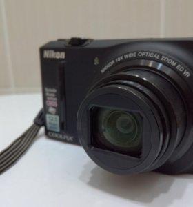 Фотоаппарат Nikon coolpix s 9100