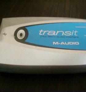 Звуковая карта m audio transit usb