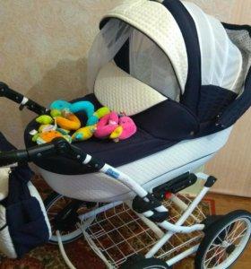 Детская коляска Adamex Katrina Ecco 2 в 1
