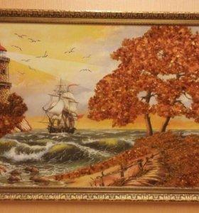 Картина с Янтарём