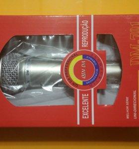 Микрофон для караоке dl+шнур,новый