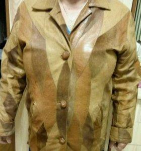 Кожаная куртка , 54 размер
