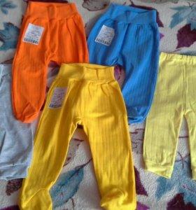 Новые ползунки и штанишки