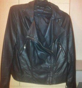 Продам куртку кожзам