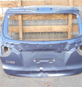 Hyundai IX35 Дверь багажника без стекла