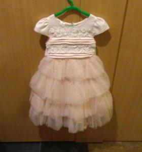 Платье нарядное  92 santa barbara