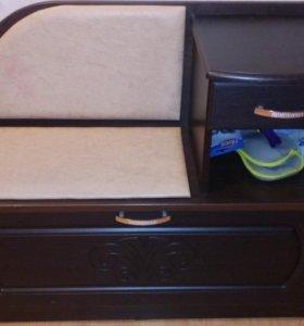 Тумба - сидушка в коридор под обувь