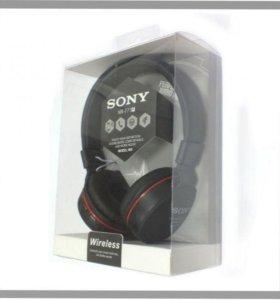 Новые наушники полноразмерные беспроводные Sony +