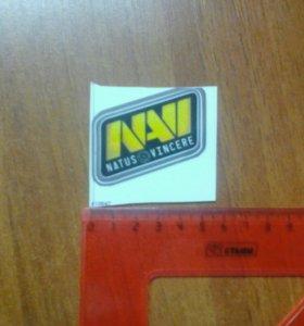 стикер команды NaVi