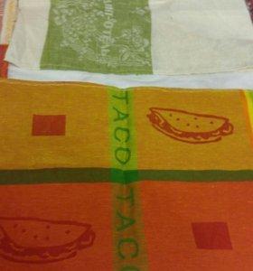 Новые льняные полотенца