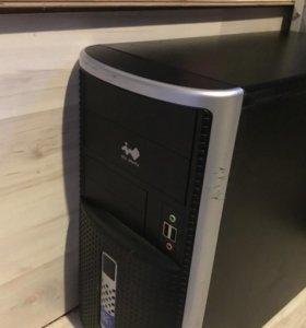 Игровой компьютер Q6600,8gb ram, GTX 1050, 320 hdd