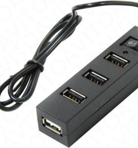 Новый USB концентратор (USB хаб) Orient TA-400