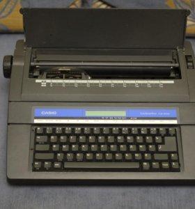 Печатная машинка Casio электрическая