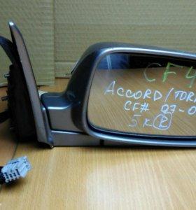 Зеркало правое хонда аккорд, хонда торнео 97-02