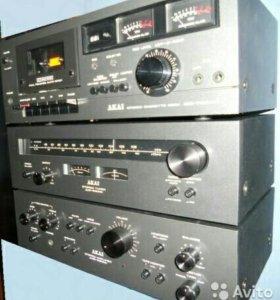Akai 2200 винтажная студийная стойка +AC Technics