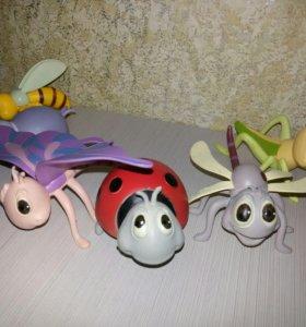 Игрушки из плотной резины Насекомые